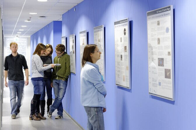 Students on corridor