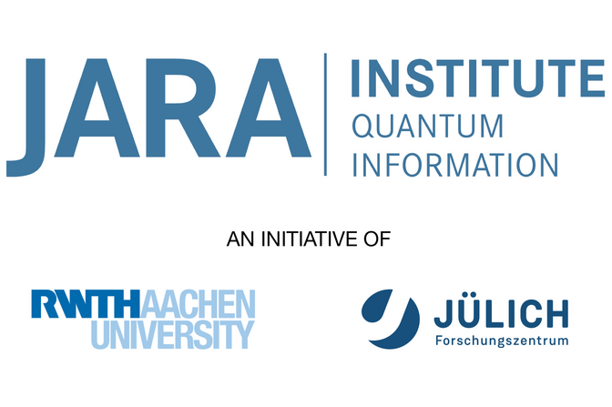 The JARA Insitute Quantum Information is a joined initiaitve of the RWTH Aachen University and of the Research Center Jülich