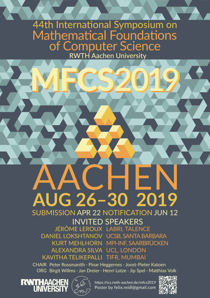 MFCS 2019 Conference Flyer